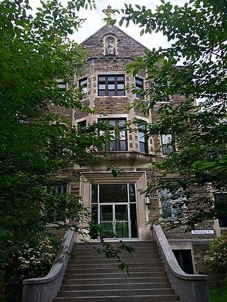 Saint Joseph's Seminary (Plainsboro, New Jersey) - Image: St. Joseph's Seminary (Princeton, New Jersey) building two