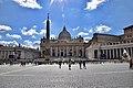 St. Peter's Square and Basilica (Ank Kumar) 02.jpg