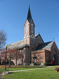St. Remy Catholic Church, a community landmark