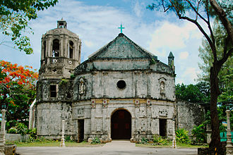 Daanbantayan - Image: St. Rose of Lima Parish Church in Daanbantayan, Cebu