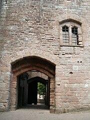 St Briavels Castle Gateway Passage