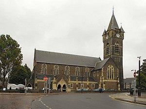 Neath - St David's Church, Church in Wales.
