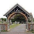 St Mary's Church, Church Road, Portchester (May 2019) (Lychgate).JPG