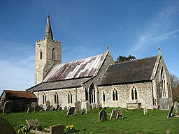 St Mary's church, Cranworth, Norfolk - geograph.org.uk - 704122.jpg