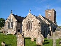 St Michael's church, Gittisham - geograph.org.uk - 174037.jpg
