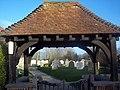 St Nicholas Church, West Itchenor - Lych Gate - geograph.org.uk - 350248.jpg
