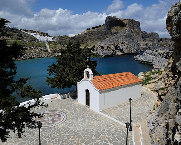 St Paul Church Lindos