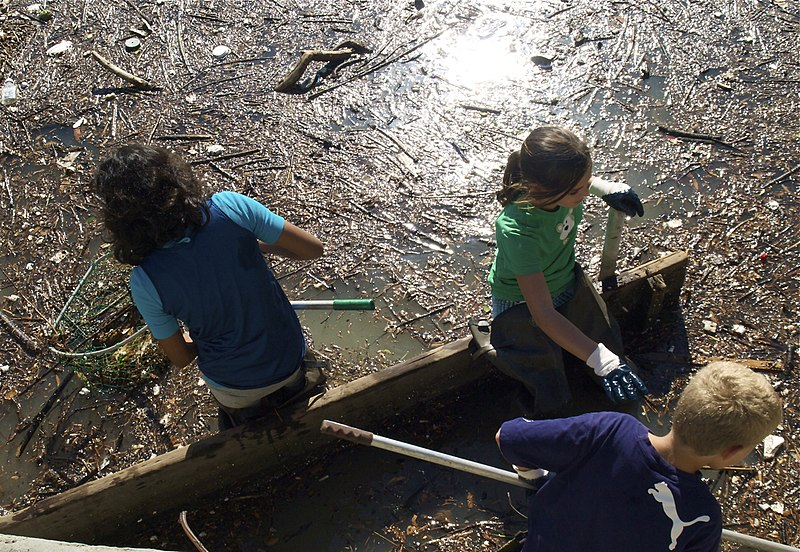 File:St Pauls Episcopal School Lake Merritt Cleaning Oakland Ca.jpg