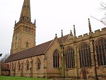 The Church Of St Peter And Paul In Coleshill Warwickshire Is An Example What Decorated Gothic Churches Look Like England