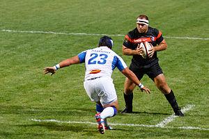 Jean-Baptiste Poux - Jean-Baptiste Poux during Stade toulousain vs Castres olympique on August 17th, 2012
