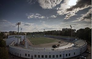 Syktyvkar - The 2017 Bandy Y-19 World Championship was played at Respublikanskiy Stadion.