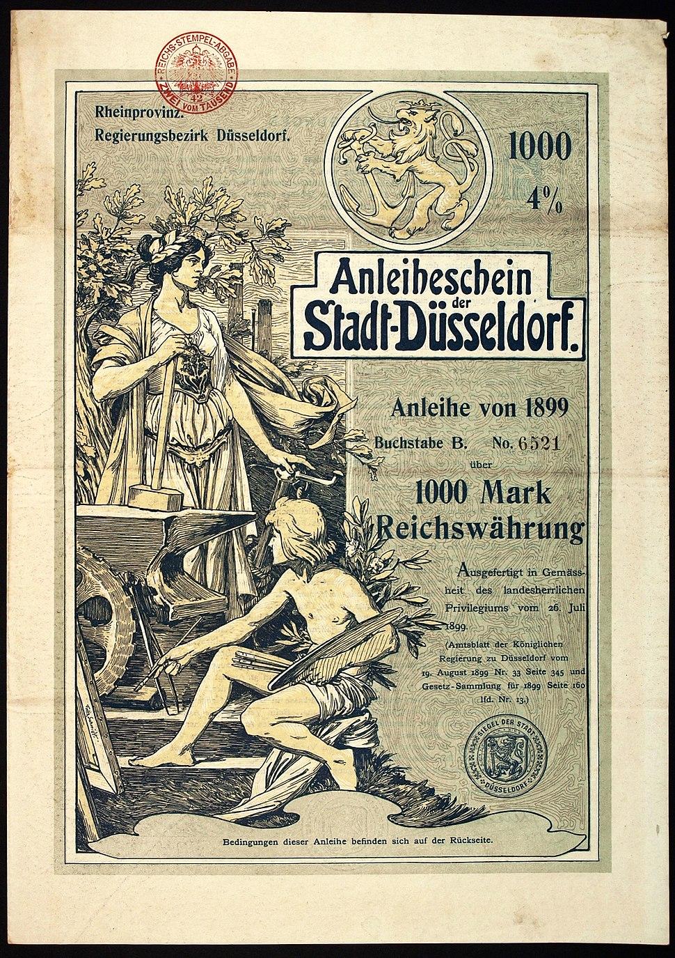Stadt D%C3%BCsseldorf 1899