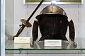 Stadtmuseum Oberwesel. Aus der Schönburg stammende Sturmhaube 16.- 17. Jh.jpg