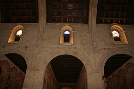 Stained Glass Windows and Ceiling, Cathedral of Cordoba.jpg