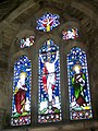 Stained glass window, The Church of All Saints, Nunney - geograph.org.uk - 1214588.jpg
