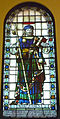 Stained glass window in St James Sydney adjusted.JPG