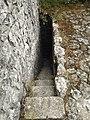 Stairs to tower of Castelo de Alcanede.jpg