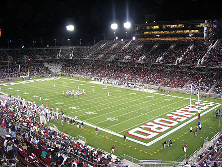 The new Stanford Stadium, site of home football games. Stanstadium view.jpg