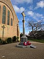 Stanton Hill War Memorial, in front of All Saints' Church, Mansfield Road, Stanton Hill (2).jpg