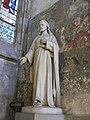 Statue du Sacré-Coeur - chapelle Sainte-Anne, cathédrale de Rouen.jpg