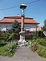 Statue of Mary. Listed ID 5914. - 1, Nap street, Jászberény, Hungary.JPG