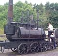 Steam Elephant, Pockerley Waggonway, Beamish Museum, 2 August 2010.jpg