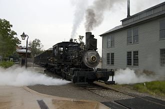 The Henry Ford - The Torch Lake steam locomotive on the Weiser Railroad.
