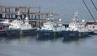 Stenka-class patrol boat Class of patrol boats built for the Soviet Navy