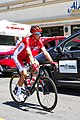 Stephane Rossetto of Cofidis before the start of Stage 2 in Modesto (34874737182).jpg