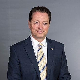 Stephen Crawford (politician) - Image: Stephen Headshot