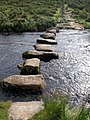Stepping stones near Laughter Hole House - geograph.org.uk - 1409902.jpg