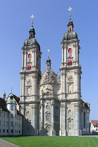 St. Gallen - The Abbey Cathedral of Saint Gall