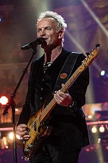 Sting (musician) English musician