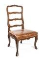Stol, del av möbeluppsats, Schweiz - Hallwylska museet - 109834.tif