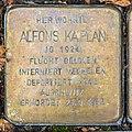 Stolperstein Alfons Kaplan, Thürmchenswall 44, Köln-8566.jpg