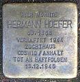 Stolperstein Eppendorfer Landstraße 74 (Hermann Hoefer) in Hamburg-Eppendorf.JPG