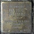 Stolperstein Heerstr 15 (Westend) Eva Irene Fontheim.jpg