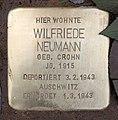 Stolperstein Hektorstr 15 (Halsee) Wilfriede Neumann.jpg