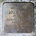 Stolperstein Hirschgartenstr 2 (Köpen) Max Gusyk.jpg
