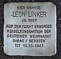 Stolperstein für Leon Linker.JPG
