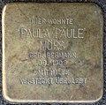 Stolpersteine Köln, Paula 'Päule' Mörs (Frankenstraße 21).jpg