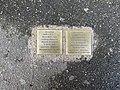 Stolpersteine Lyba Espéra Wajs 45 rue St Germain Fontenay Bois 3.jpg