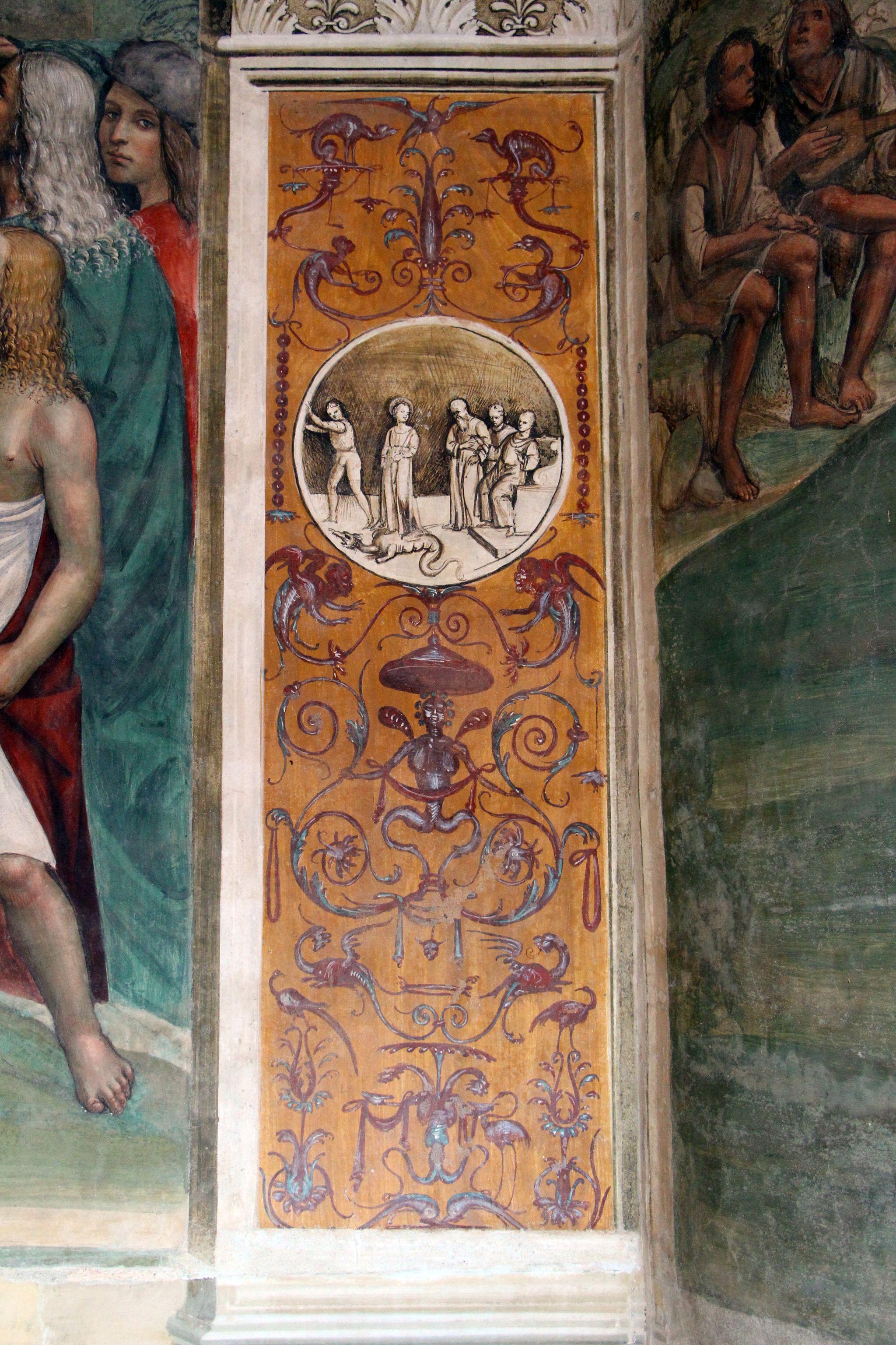 Storie di s. benedetto, 03 sodoma - Come Benedetto risalda lo capistero che si era rotto 11