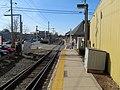 Stoughton station from mini-high platform, April 2016.JPG