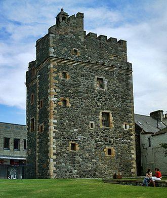 Wigtownshire - Castle of St John, Stranraer
