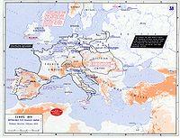 Karta Europa 1815.Napoleono Karai Vikipedija