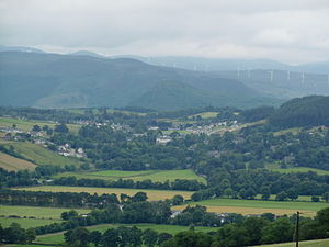 Strathpeffer - Strathpeffer from the north east