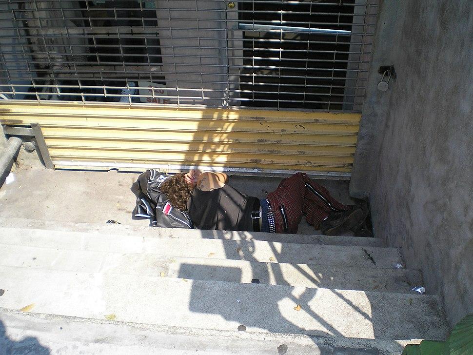Street Sleeper 4 by David Shankbone