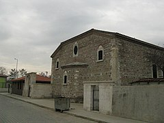 Sts. Constantine and Helen Church (Edirne), Northwest.JPG