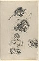 Studies of Lovers Embracing (recto) and A Suppliant Figure (verso) MET DP830342.jpg